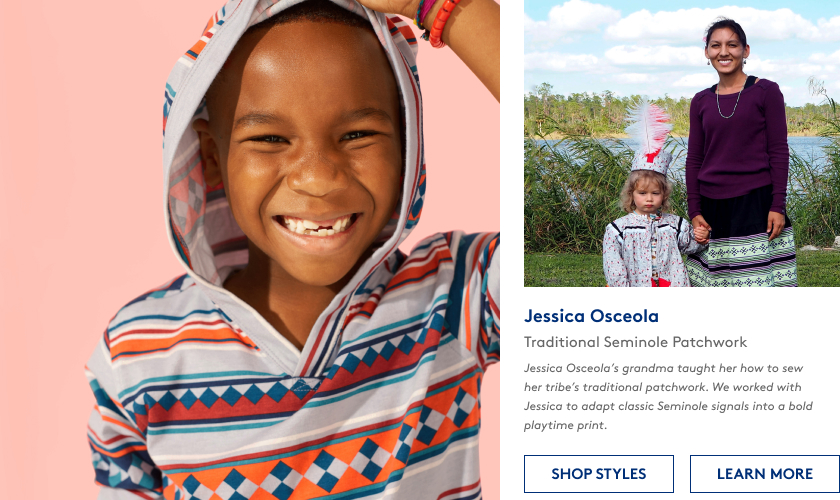 Jessica Osceola's grandma taught her how to sew