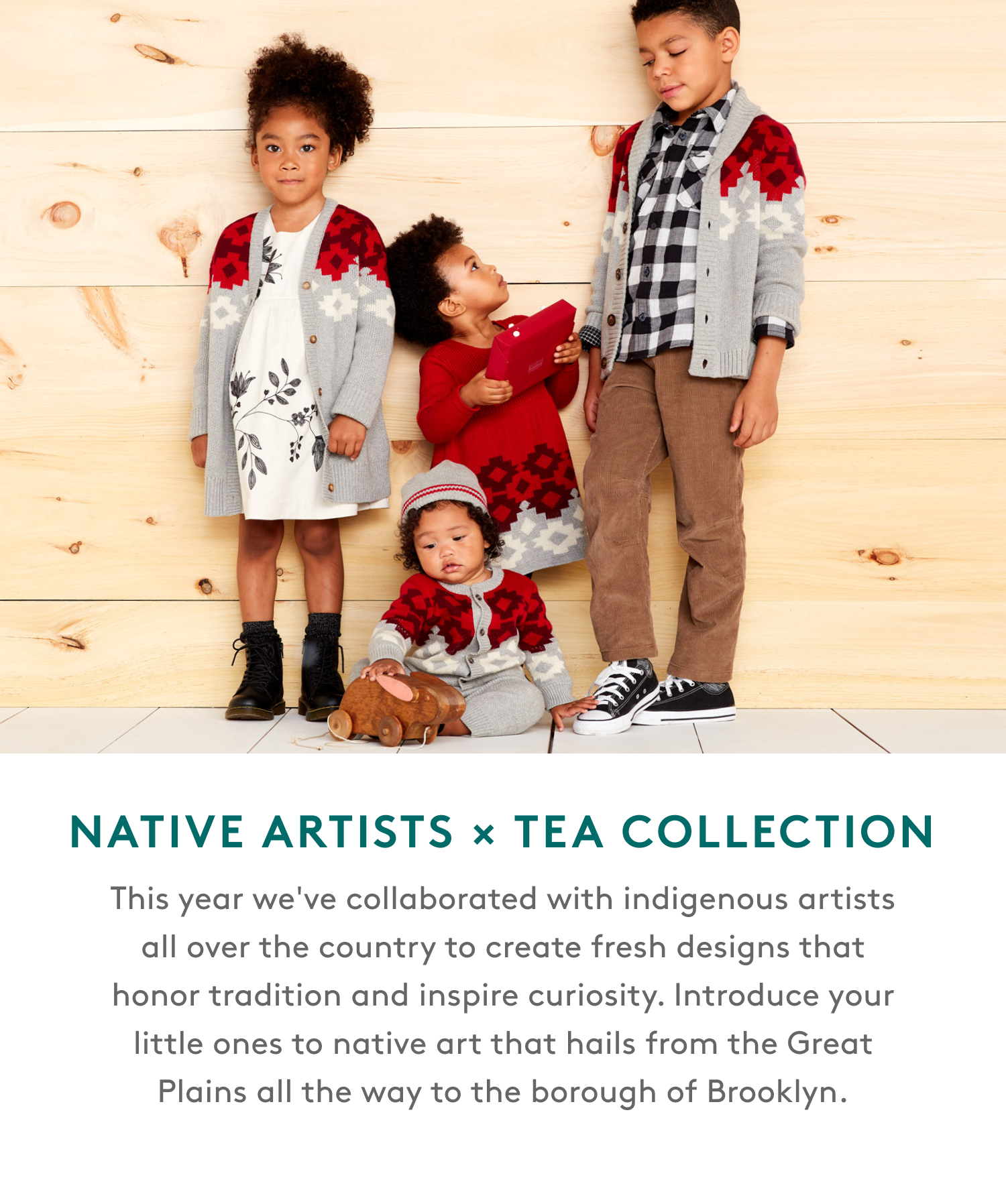 native artists x tea collection