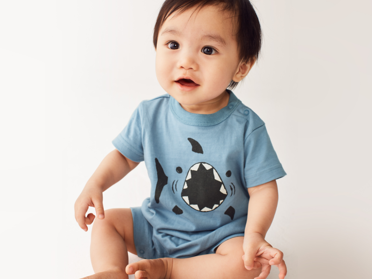 5cc7bc43f ... baby boy looks feature soft and roomy styles he'll love available in  sizes 0