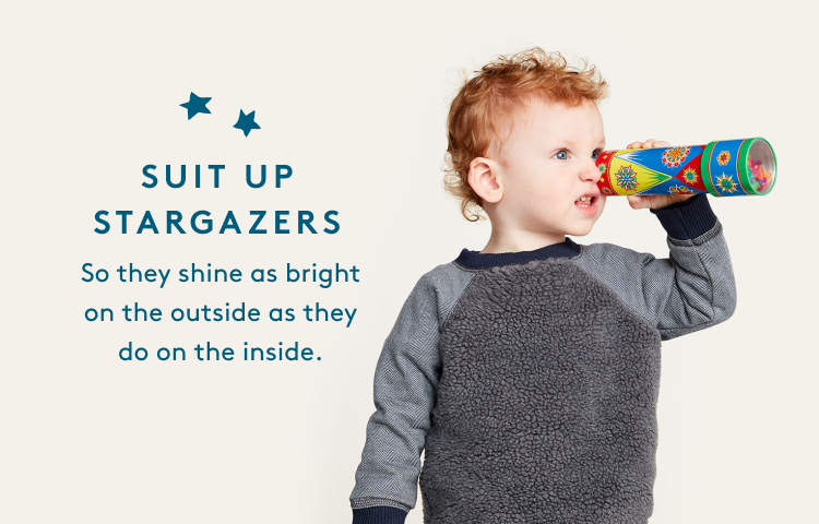 SUIT UP STAR GAZERS