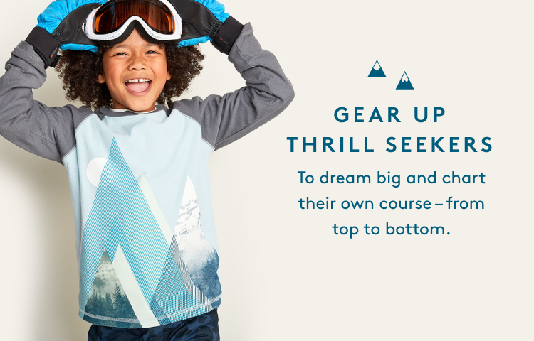 GEAR UP THRILL SEEKERS