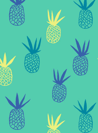 pineapple pattern graphic