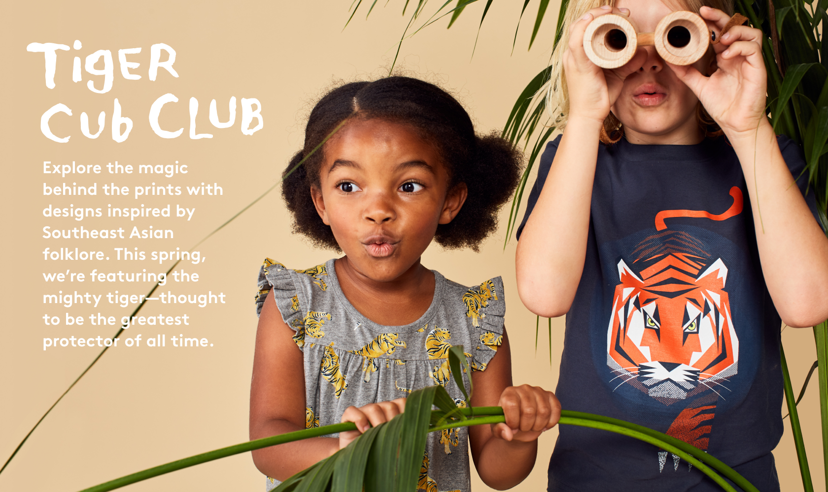 99d6fc24ec070 Tiger Cub Club Explore the magic behind the prints with designs inspired by  Southeast Asian folklore ...