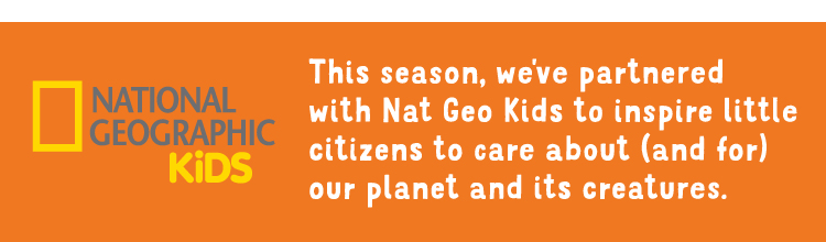 description to visit Tea's and Nat Geo Kids activity page