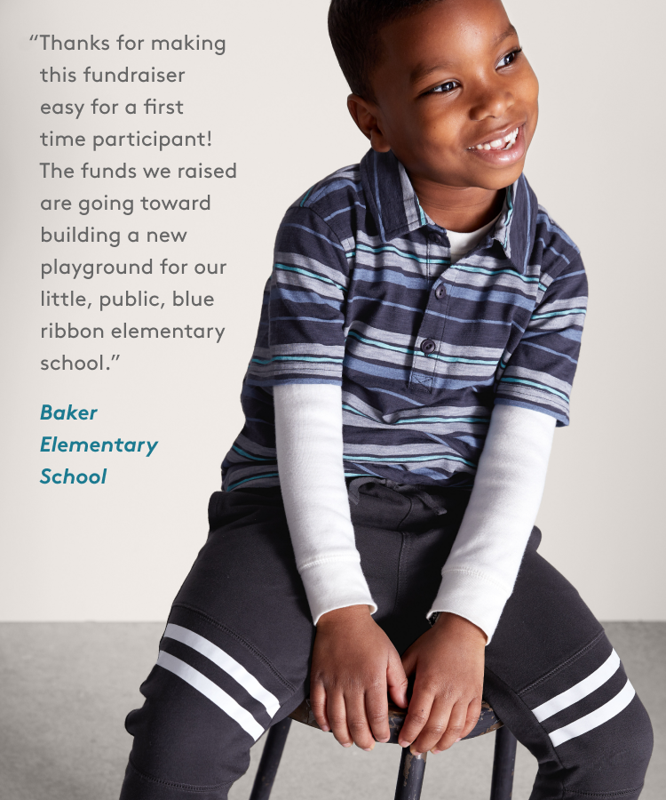 Thanks for making this fundraiser easy for a first time participant! The funds we raised are going toward building a new playground for our little, public, blue ribbon elementary school. - Baker Elementary School