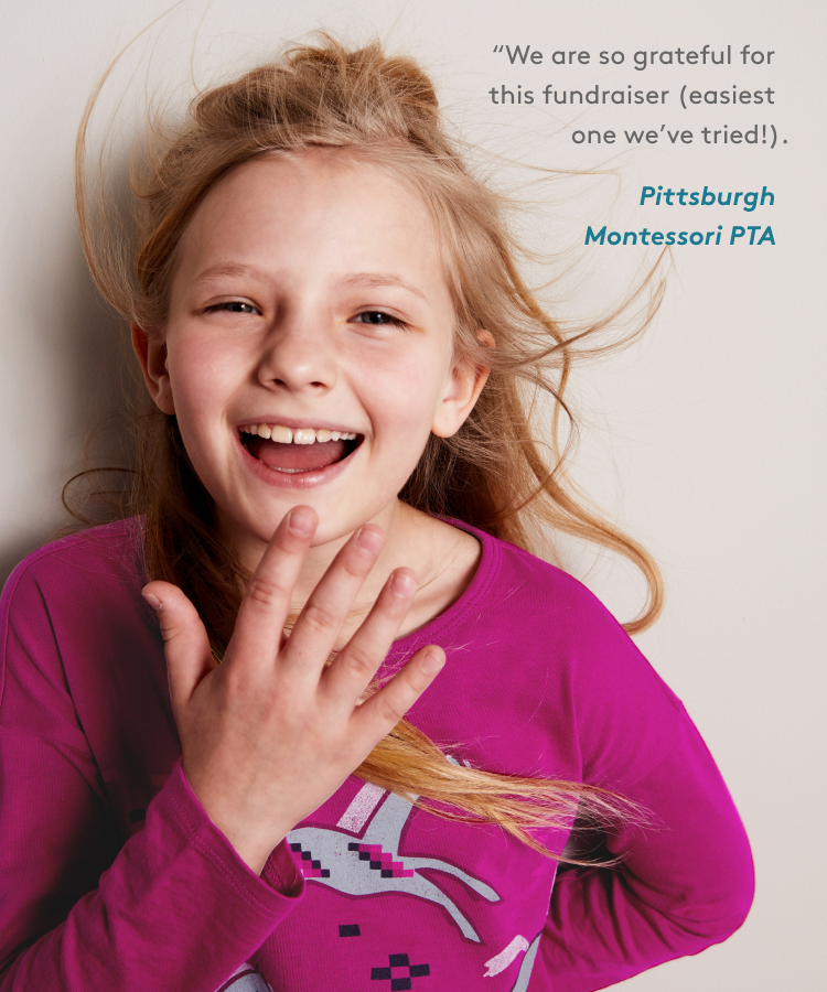 We are so grateful for this fundraiser (easiest one we've tried!). -Pittsburgh Montessori PTA