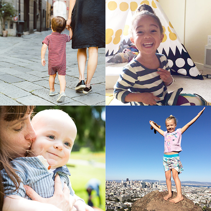 various images of the little citizens of the world