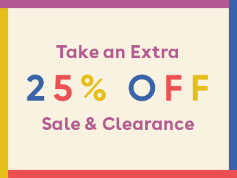 shop extra 25% off sale & clearance