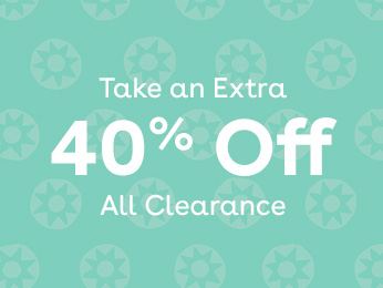 take an extra 40% off all clearance