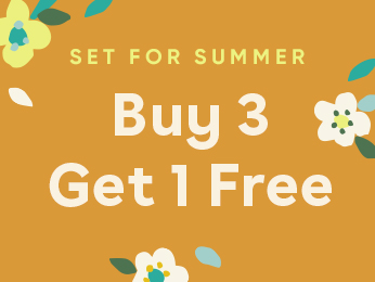 set for summer  buy 3 get 1 free