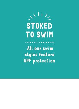 All our swim styles feature UPF protection